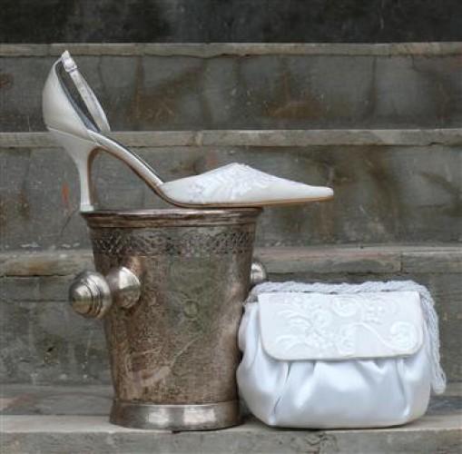 обувь к свадебному платью