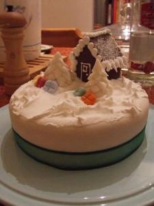 фотографии новогодних тортов