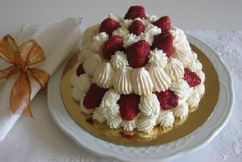 Торт Павлова из безе