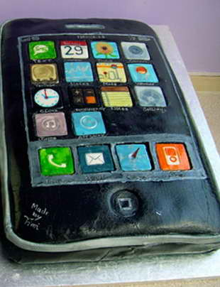 iphone из мастики