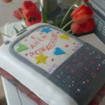 Эксклюзивные телефоны из сахарной мастики