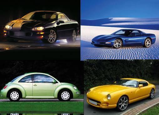 выбор цвета авто под характер