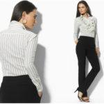 Трикотажная блузка – неотъемлемая часть женского гардероба.