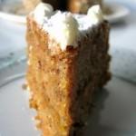 Carrot cake или морковный торт с апельсиновым кремом