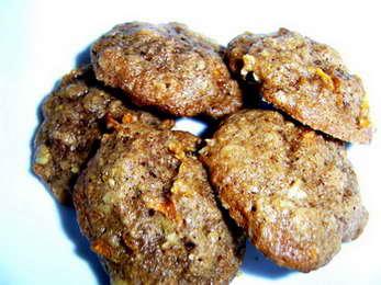 печенье из моркови рецепт с орехами