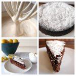 Шоколадно-лимонный торт без муки с кремом Маргарита