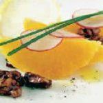 Новый рецептик салата с апельсинами и редиской (марокканская кухня)