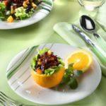 Свекольно-апельсиновый салат