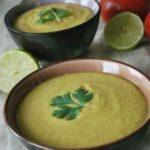 Рецепт cуп-пюре с авокадо