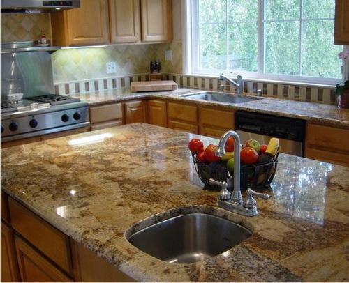 Преимущества кухонных столешниц, изготовленных из натурального камня