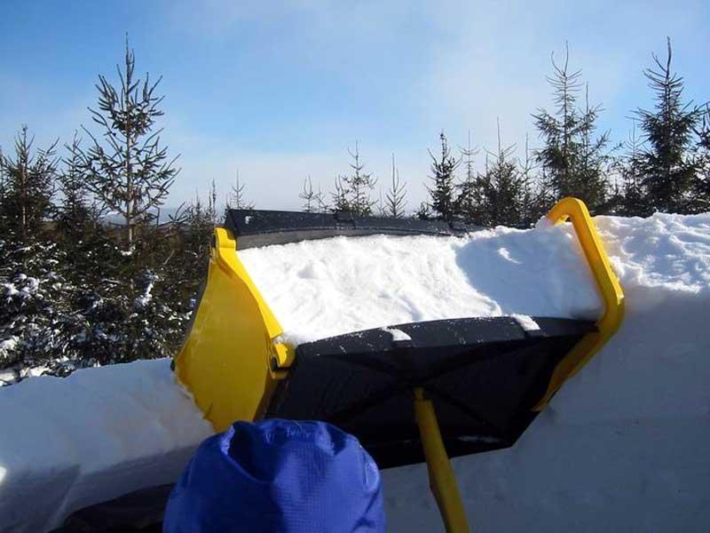 Строительство снежных крепостей
