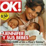 Первые фото детей Дженифер Лопес