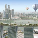 Проект гостиницы «Marina Bay Sands» в Сингапуре — современная архитектура и фасады