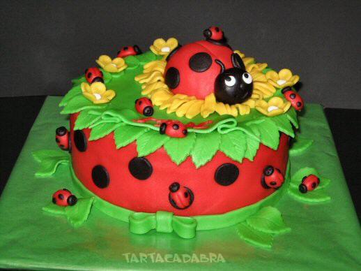 Торт украшенный сахарной мастикой
