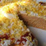 Рыбный хлеб — Запеканка с крабовыми палочками и тунцом