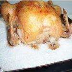 Курица в духовке без хлопот