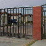 Установка оград