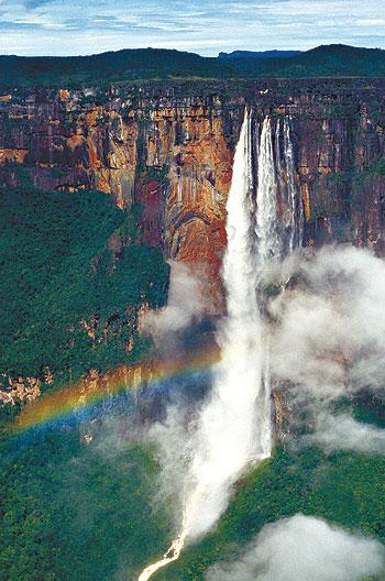 водопад Анхель Венисуэлла