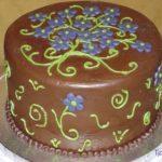 Как сделать, чтобы сахарная мастика на торте блестела.