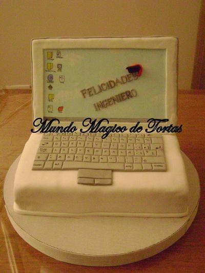 сладкий ноутбук торт из мастики фото